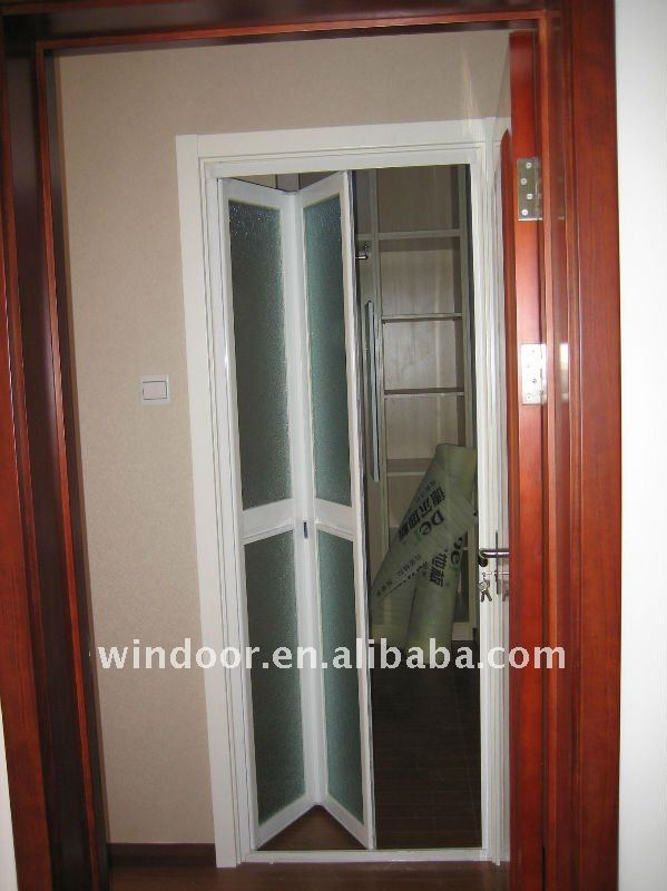 Concertina Doors Plastic Pvc Folding Bathroom Door Suppliers And