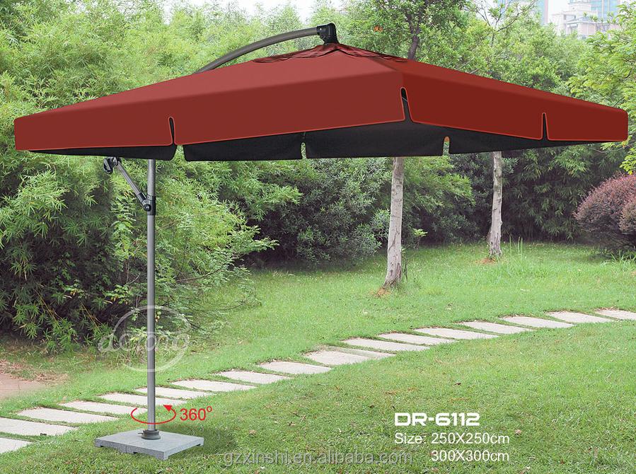 High Quality Outdoor Square Banana Umbrella /patio Umbrella