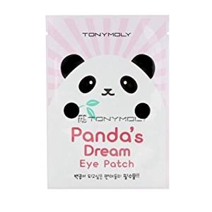 TONYMOLY Panda's Dream Eye Patch Dark Circle Sheet Mask Pack, 5.60 Ounce