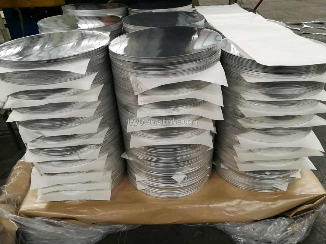 Competitive Price For 3003 Aluminum Alloy 3003  Circle Disc Disk Round Plates For Pot Boiler Pan Cookwares