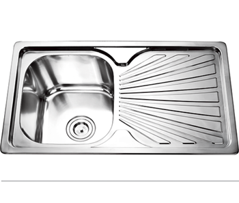 One Bowl Stainless Steel Kitchen Sinks Commercial restaurant one bowl deep stainless steel kitchen sink commercial restaurant one bowl deep stainless steel kitchen sink with drainboard workwithnaturefo