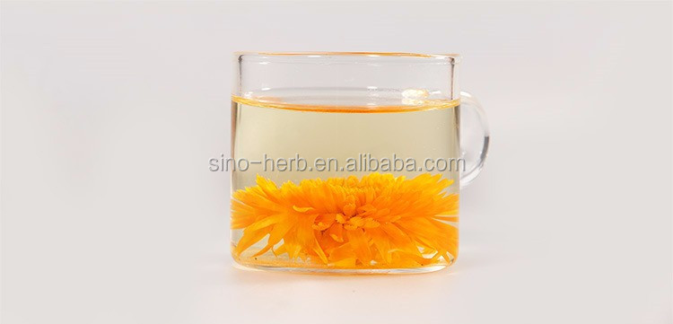 Free Sample Sun Dried Calendula Officinalis Marigold Flowers Herbal Tea - 4uTea | 4uTea.com
