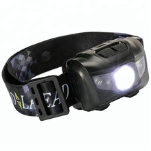 USB waterproof camping fishing sensor 3W rechargeable LED headlamp