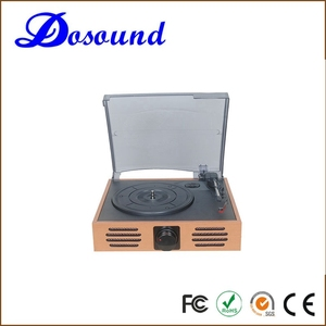 double cassette multiple recorder vinyl turntable player