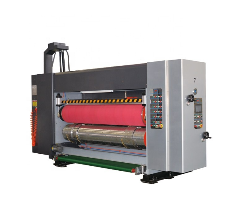 adsorption 5 colors printing slotting die-cutting