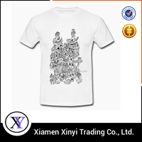 OEM factory design custom cheap mens vintage t shirt