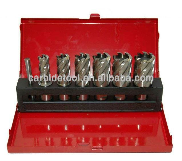 Annular Cutter kit 20,22,24,26 x 50mm HSS Annular Broach Cutter Universal Shank