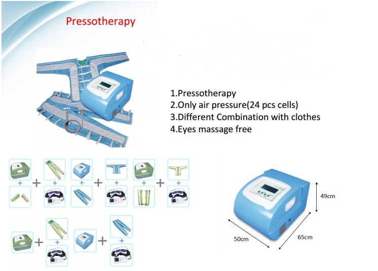 new products 2016 innovative product Pressotherapy Machinery Used