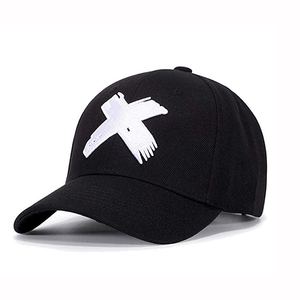 5183c44a04bc8 Custom 3D Puff X Embroidery Hat Adjustable Big X Anime Dad Hat Flat Bill Baseball  Cap