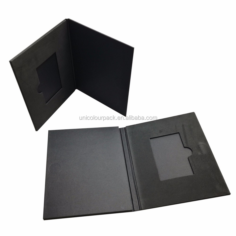Custom Cardboard Briefcase Business Card Folder/holder - Buy ...