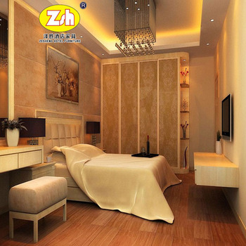 Solid wood hotel villa furniture from china ZH-R138