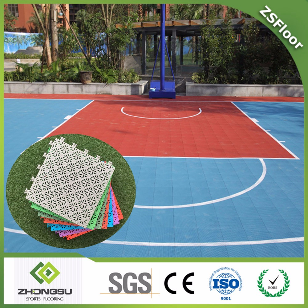Basketball flooring cost gurus floor for Indoor basketball court price