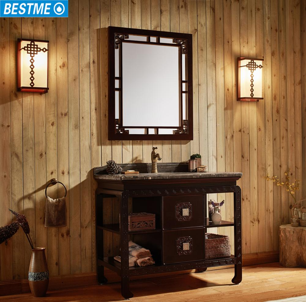 Oakwood Antique Style Bathroom Vanity