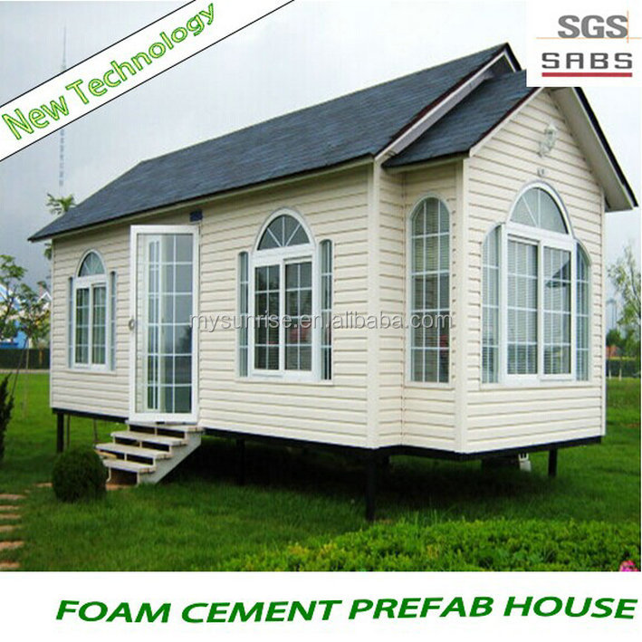 Style high public portable prefabricated mobile log cabin modular homes
