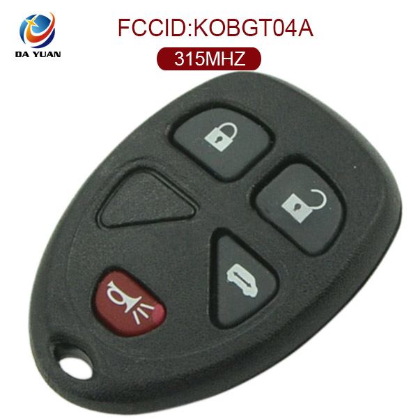AK019006 remote car key fob for GMC 3+1button 315MHZ for Pontiac /Montana