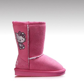 Hc-559 Micro Suede Upper Faux Lining Eva Sole Hello Kitty Printed ...