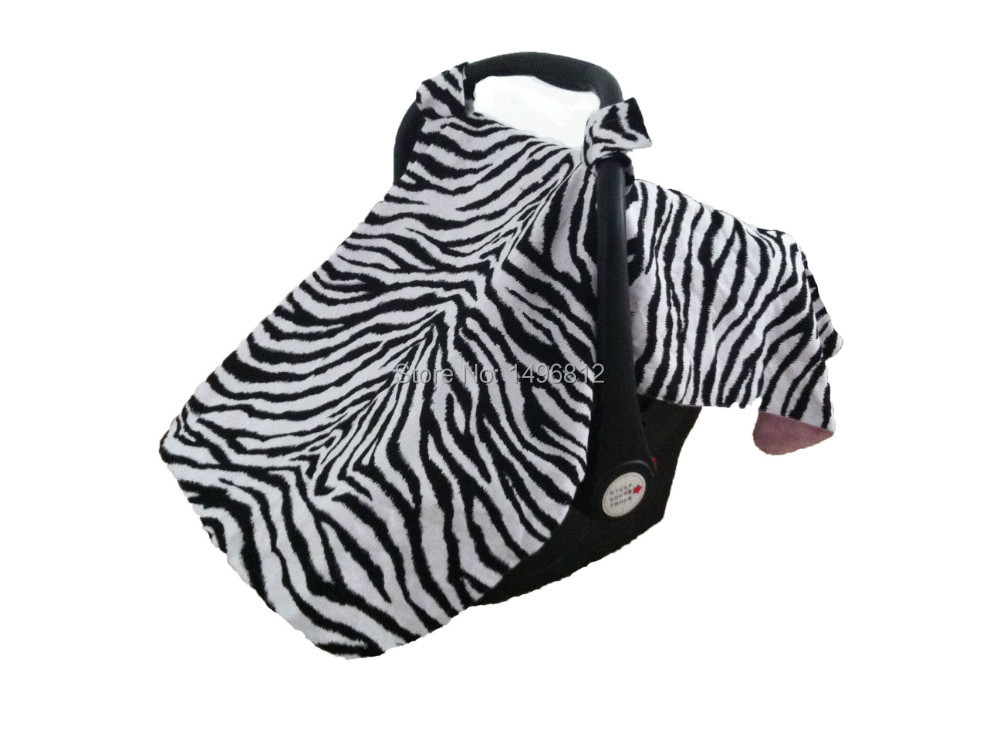 Get Quotations New Arrival Car Seat Canopy Infant Cover Boys Girls Collection Zebra