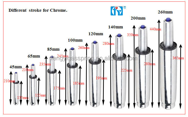 Wholesale gas spring hardware high quality gas piston for office chair - Wholesale Wholesale Gas Spring Hardware High Quality Gas Piston