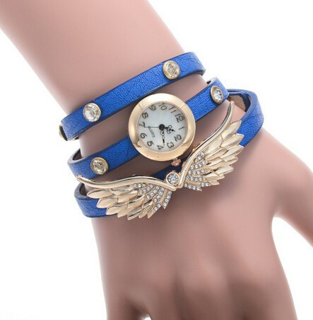 Ladies Vintage Watch Leather Strap Bracelet Wrist lady Watches Made in China