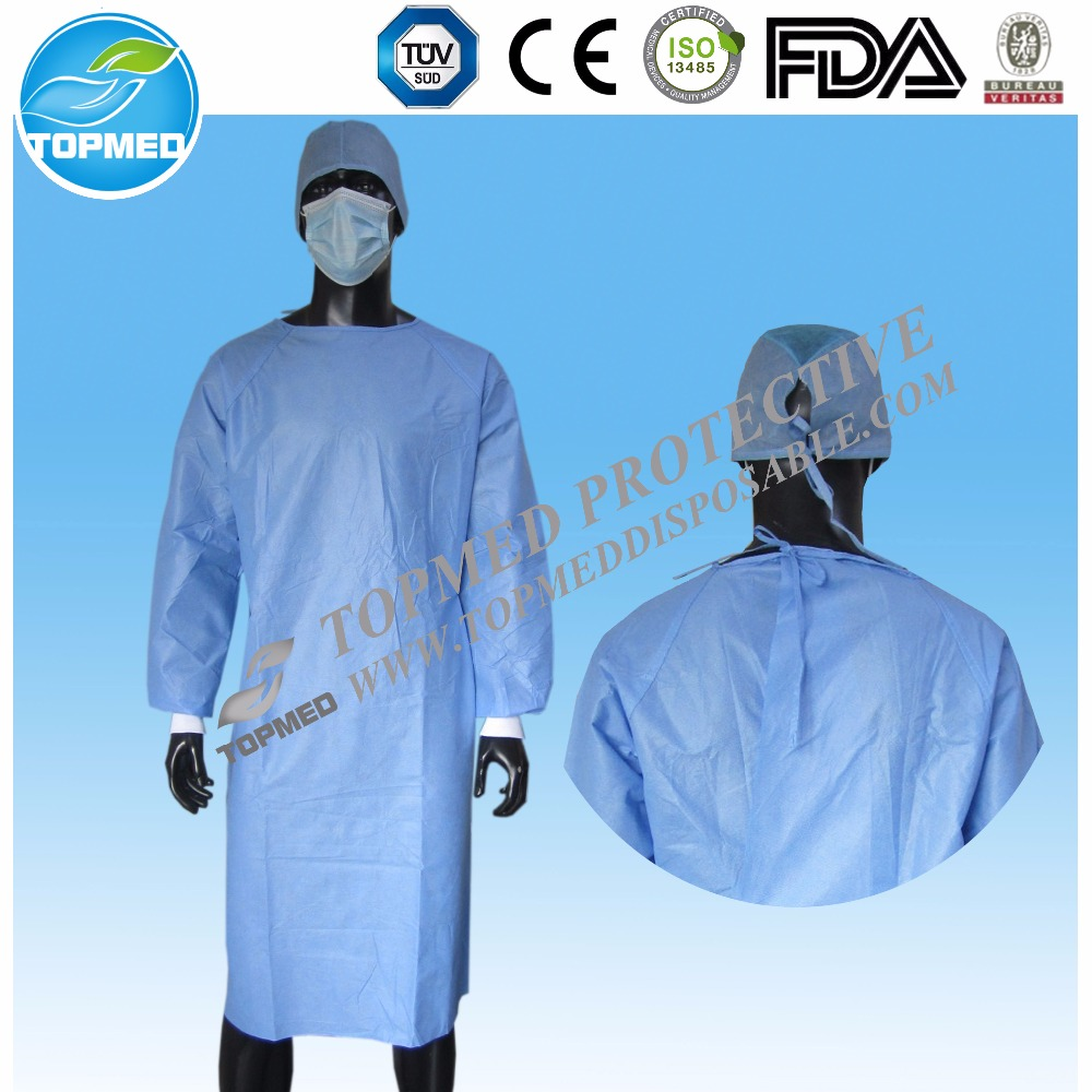Cheap Disposable Medical Gowns,Disposable Nonwoven Hospital Gown