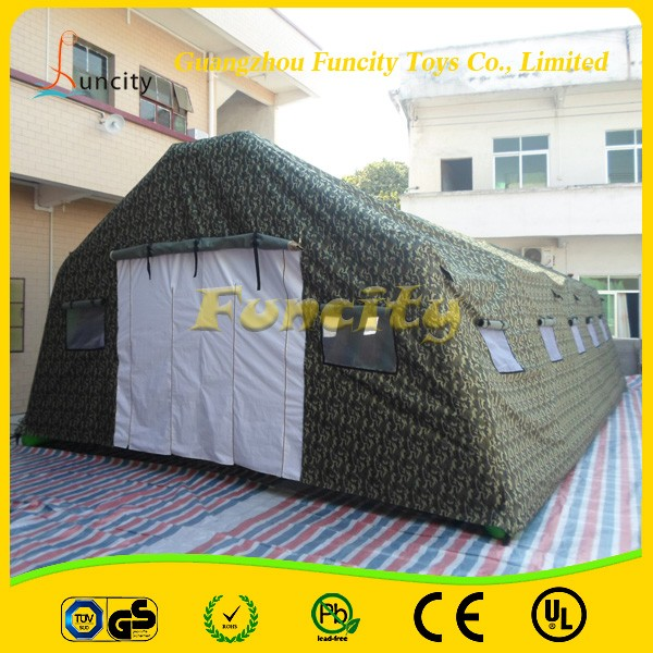 Inflatable Airtight Camp Tent/Inflatable Big Army Tent For Sale