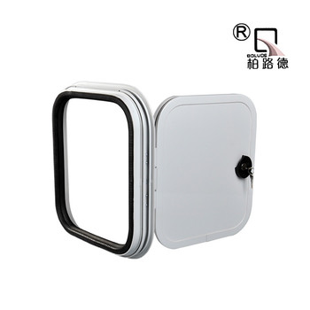 With Light EPS Material RV Accessories Storage Door