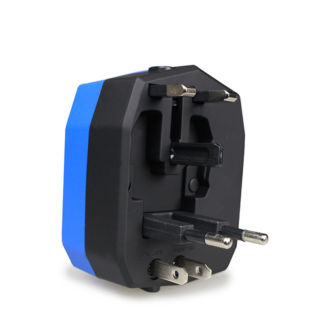 Promotional Gifts Travel Adapter Multi Plug All In One With Car Charger