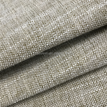 Wholesale Dyeing Solid Color Upholstery Chair Linen Fabric To Turkey