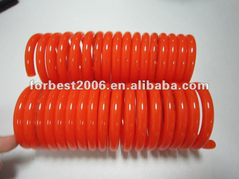 Flexible PU solid coil spiral tube 1.5mm thickness