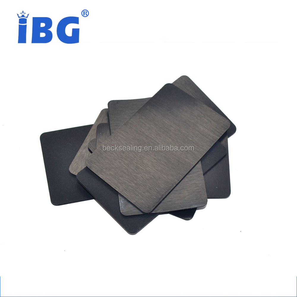 custom mechanical seal shakeproof silicone rubber sheet