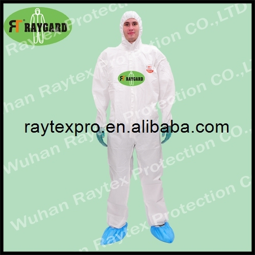 high quality nonwoven microporous protective clothing