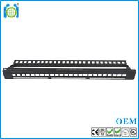 CAT.6 UTP unshielded 8p8c rj45 CE/ROHS/REACH assembly Patch Panel