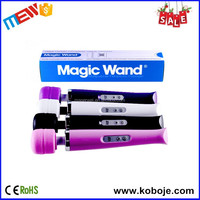 Bendable Sillicone Head 20 Speeds Girl Erotic Health Magic Wand Massager
