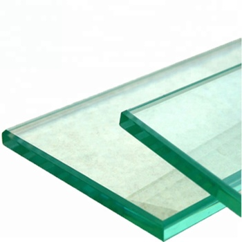 Tempered clear float glass for building glass by customs size