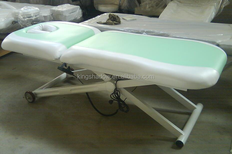 High Quality Mechanical Massage Table Short Massage Table Electric Adjustable Massage  Table