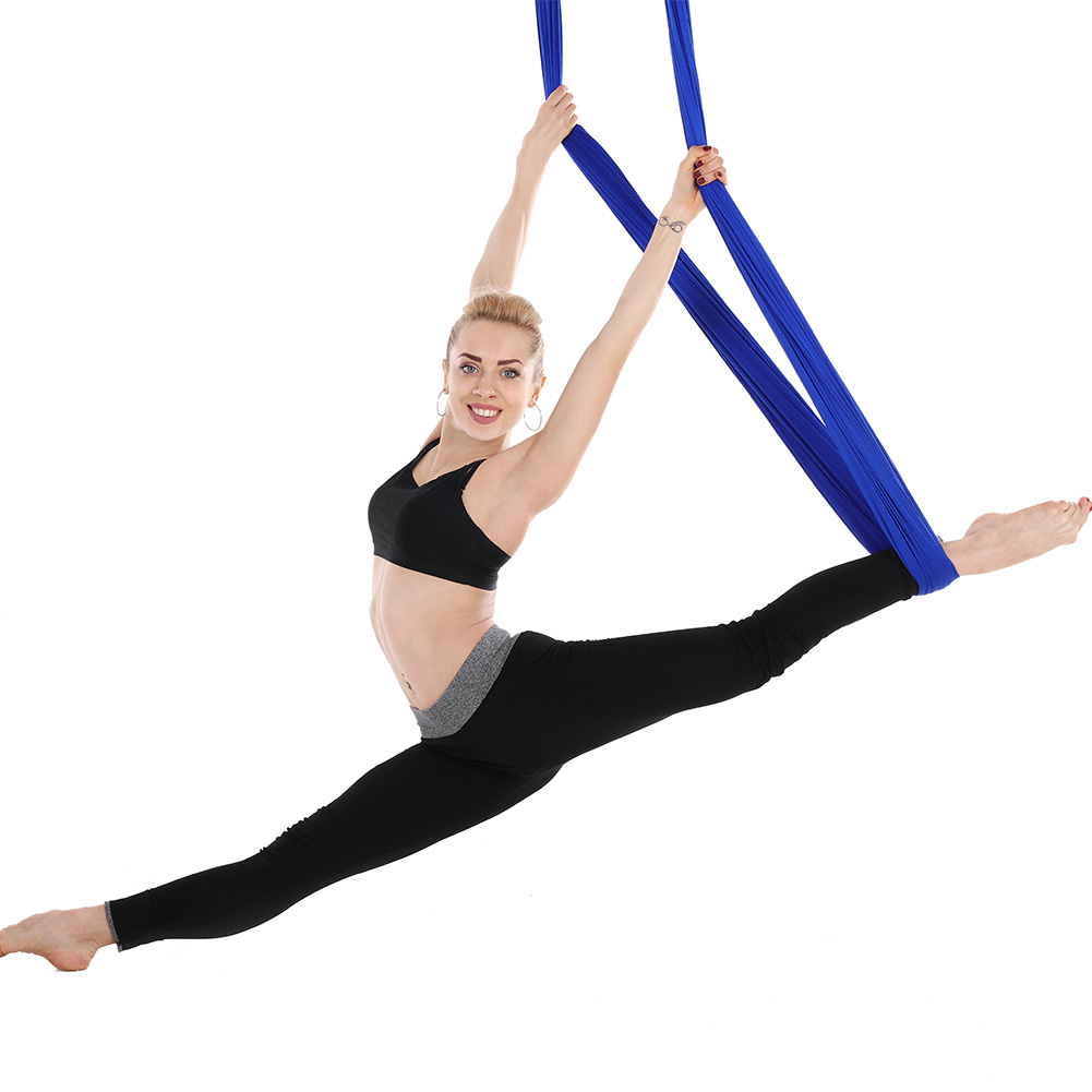 5M Length 2.8M width High-Strength Soft Flying Portable yoga Hammock