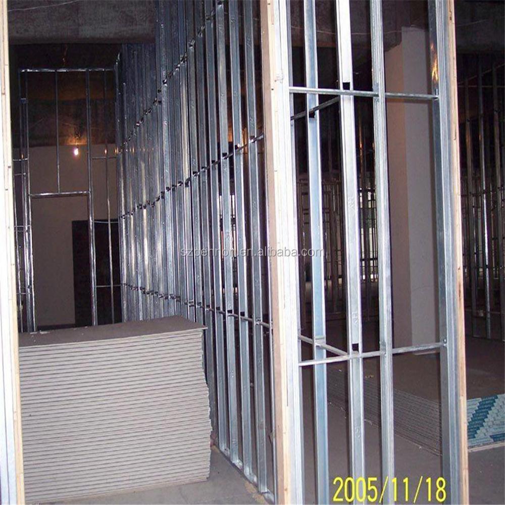 Drywall Partition System : Drywall partition system galvanized steel profile stud and