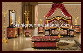 Ensemble De Chambre À Coucher Royale Italien De Luxe Style Meubles De  Mariage 24k Plaqué Or - Buy Ensemble De Chambre Royale,Meubles En Or 24 ...