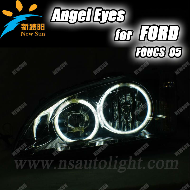 Beautiful Colourful CCFL Rings for Focus 05,Motorcycle car Lights CCFL Angle Eyes