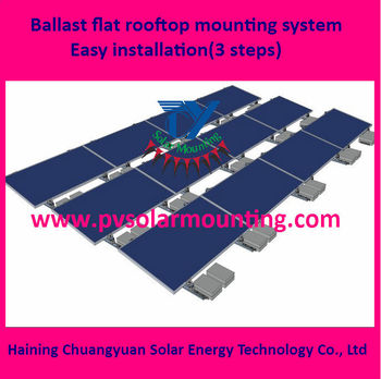 Solar Panel Roof Mount Kit For Flat Roof Buy Solar Panel