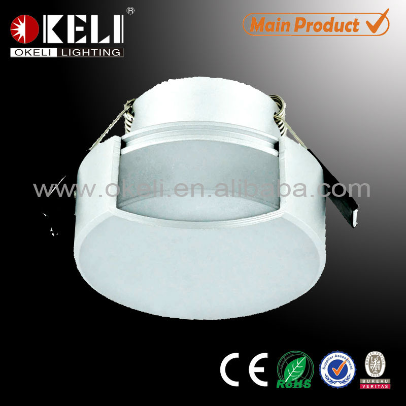 residential acrylic led wall light 1w