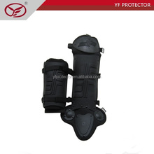 fire proof riot-control leg protector for military and army use