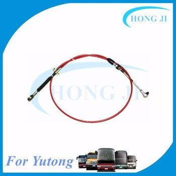 Chinese auto spares parts 1703-01134 Yutong bus gear shift cable