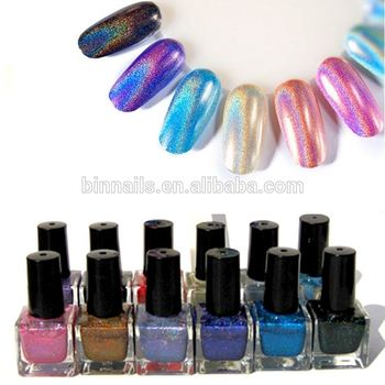 Hologram Color Club Nail Polish