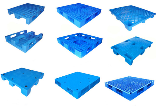 single sided 9 legs 1210 high quality plastic pallet