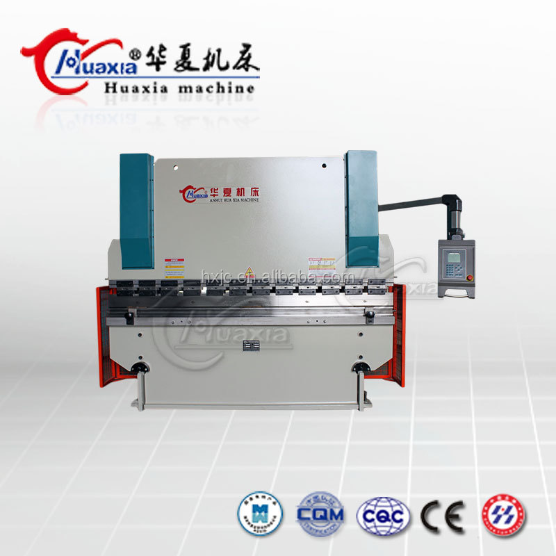 Ce Certificate Brake Manual Square Tube Cnc Metal Sheet Bender