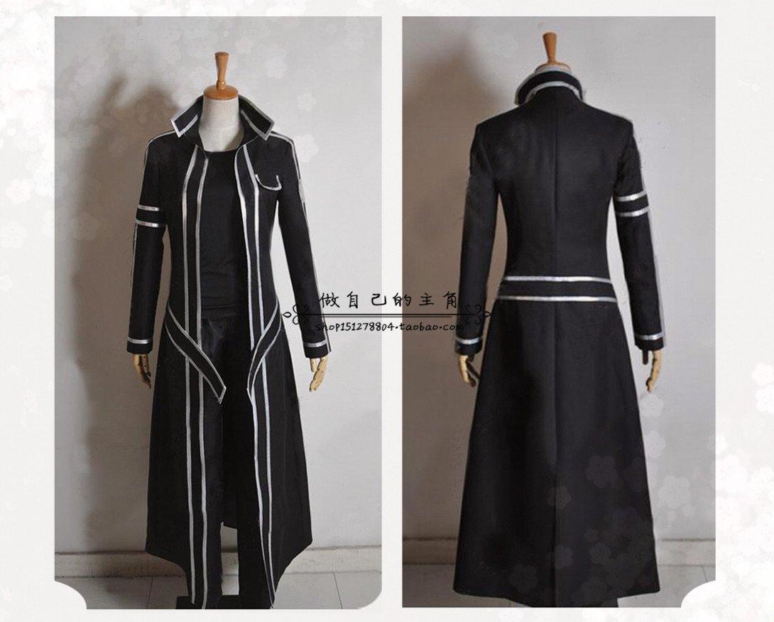 Get Quotations · Sword Art Online Kirigaya Kazuto Kirito costume cloth clog  shoes Sword Cosplay Prop 7c8e8a492e97