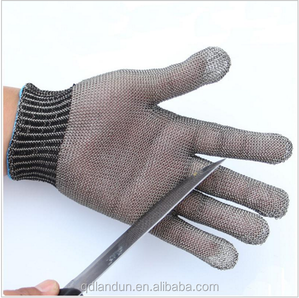 Security & Protection Safety Gloves New Durable Hig Quality Safety Cut Proof Stab Resistant Protect Glove 100% Stainless Steel Metal Mesh Butcher Working Gloves