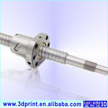 Linear Motion SFU1605 Ball screw- effective length 550mm and screw Ballnut with end support BK/BF12 and Coupling 5x10mm couplers