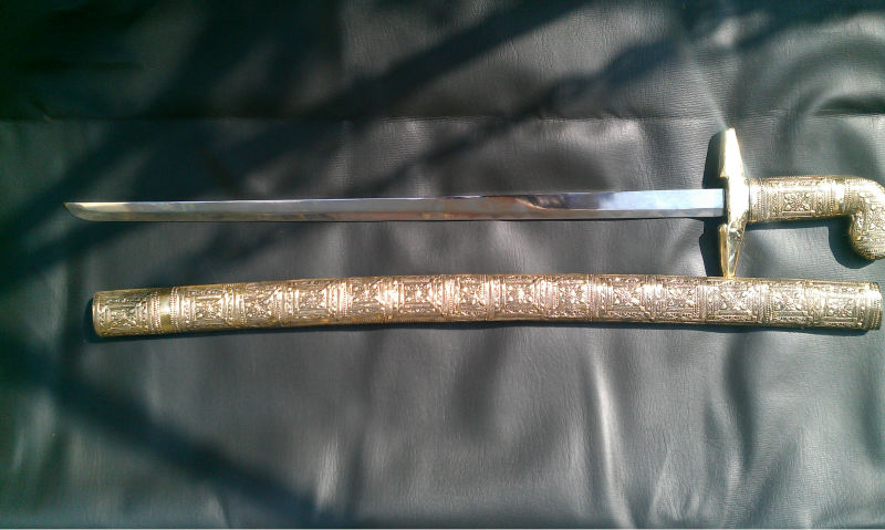 Katana Sword Full Brass
